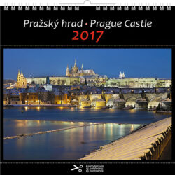 Pražský hrad / pohl. kal. na rok 2017-Kalend�� je mo�no zav�sit na st�nu i postavit na st�l. Jednotliv� listy lze pou��t jako pohlednice.