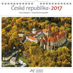 Česká republika / pohl. kal. na rok 2017-Kalendář je možno zavěsit na stěnu i postavit na stůl. Jednotlivé listy lze použít jako pohlednice.
