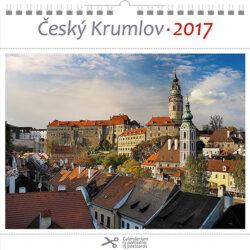 Český Krumlov - zámek / pohl. kal. na rok 2017-Kalend�� je mo�no zav�sit na st�nu i postavit na st�l. Jednotliv� listy lze pou��t jako pohlednice.