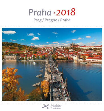 Praha / pohl. kal. na rok 2018(8595115203191)