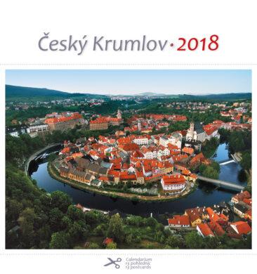 Český Krumlov - letecký / pohl. kal. na rok 2018(8595115203245)