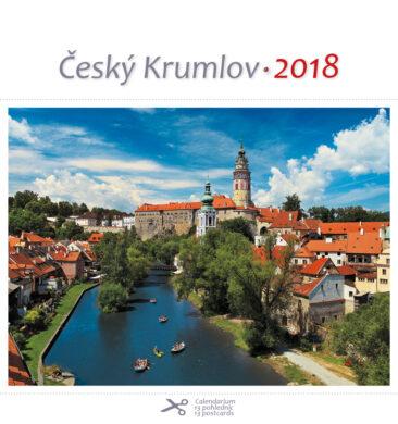Český Krumlov - řeka / pohl. kal. na rok 2018(8595115203252)