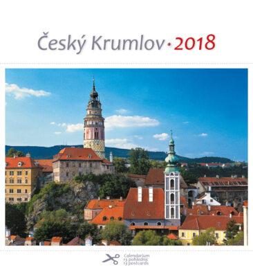 Český Krumlov - věže / pohl. kal. na rok 2018(8595115203269)