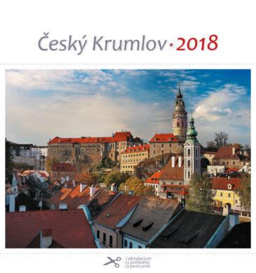Český Krumlov - zámek / pohl. kal. na rok 2018(8595115203276)