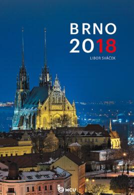 Kalendář Brno nástěnný 2018 - střední formát     MCU(8595115203429)