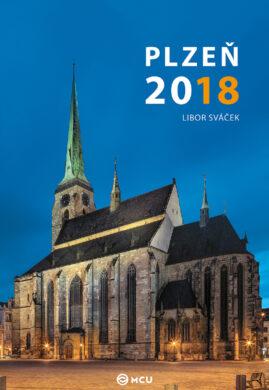 Kalendář Plzeň nástěnný 2018 - střední formát     MCU(8595115203450)