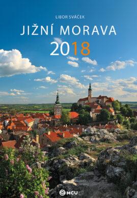 Kalendář Jižní Morava nástěnný 2018 - střední formát     MCU(8595115203481)