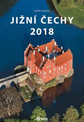 Kalendář Jižní Čechy nástěnný 2018 - střední formát     MCU(8595115203528)