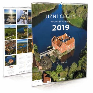 Jižní Čechy / nástěnný kalendář na rok 2019(8595115203658)