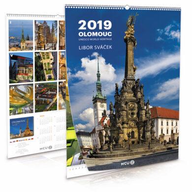 Olomouc / nástěnný kalendář na rok 2019(8595115203696)
