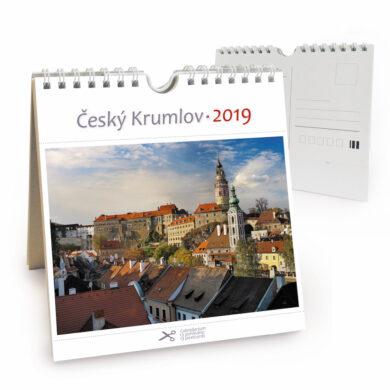 Český Krumlov - zámek / pohl. kal. na rok 2019(8595115203788)