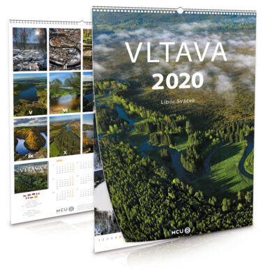 Vltava / nástěnný kalendář na rok 2020(8595115204082)