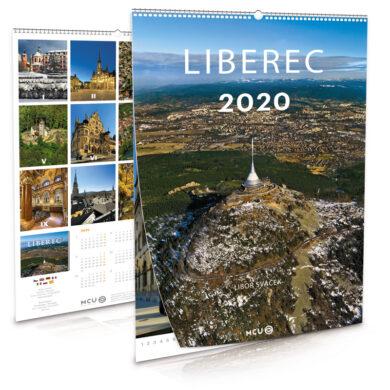 Liberec / nástěnný kalendář na rok 2020(8595115204105)