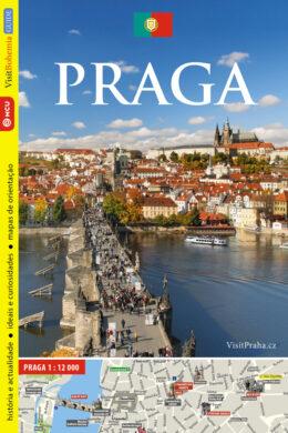 Praha / průvodce  portugalsky(9788073390365)