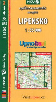 Lipensko / cykloturistická mapa č. 2  1:55 000(9788073390525)