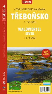 Třeboňsko / cykloturistická mapa č. 4  1:55 000(9788073390532)