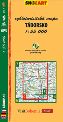 Táborsko / cykloturistická mapa č. 9  1:55 000(9788073390563)
