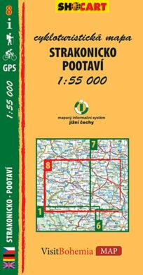 Strakonicko / cykloturistická mapa č. 8  1:55 000(9788073390587)