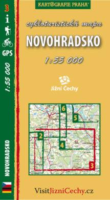 Novohradsko / cykloturistická mapa č. 3  1:55 000(9788073390594)