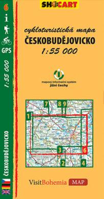 Českobudějovicko / cykloturistická mapa č. 6  1:55 000(9788073390600)