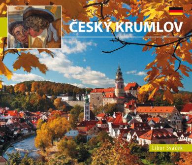 Český Krumlov / kniha L.Sváček - malý  německy(9788073391034)