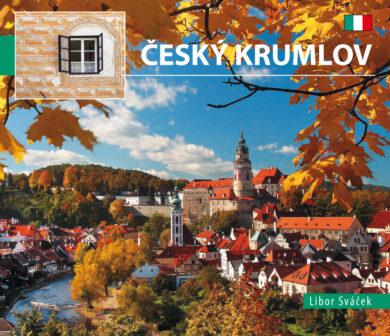 Český Krumlov / kniha L.Sváček - malý  italsky(9788073391058)