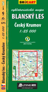 Blanský les / cykloturistická mapa č. 5  1:25 000(9788073391164)
