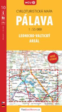 Pálava - Lednicko-valtický areál / cykloturistická mapa č. 10  1:55 000(9788073391232)