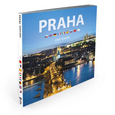 Praha / kniha L.Sváček - střední formát(9788073391508)