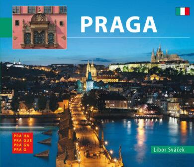 Praha / kniha L.Sváček - malý  italsky(9788073391621)