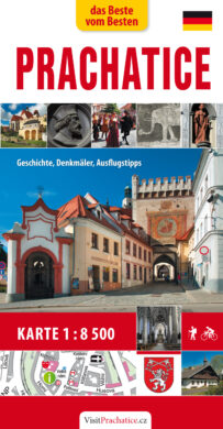Prachatice / kapesní průvodce  německy(9788073391751)