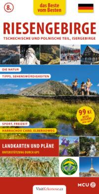 Krkonoše, Jizerské hory / kapesní průvodce  německy(9788073391928)