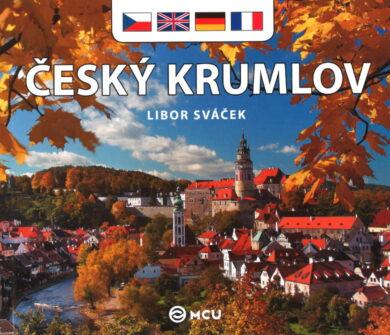 Český Krumlov / kniha L.Sváček - malý  česky, anglicky, německy, francouzsky(9788073392239)