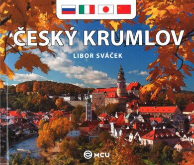 Český Krumlov / kniha L.Sváček - malý  rusky, italsky, japonsky, čínsky(9788073392246)