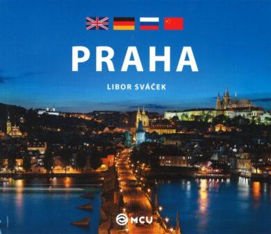 Praha / kniha L.Sváček - malý  anglicky, německy, rusky, čínsky(9788073392260)