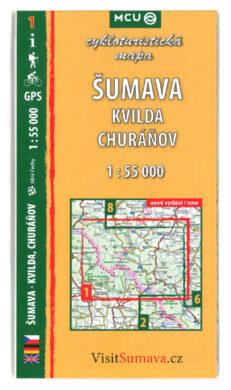 Šumava - Kvilda, Churáňov / cykloturistická mapa č. 1  1:55 000(9788073392307)