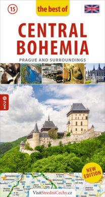 Střední Čechy / kapesní průvodce anglicky(9788073392321)