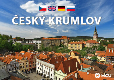 Český Krumlov / kniha L.Sváček - mini formát(9788073392406)