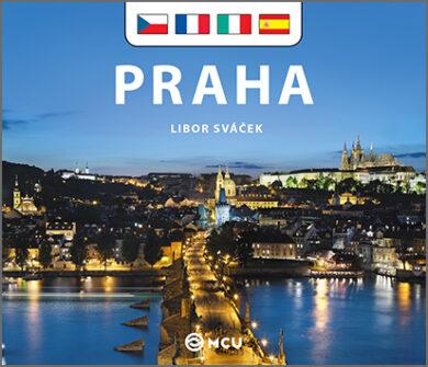 Praha / kniha L.Sváček - malý  česky, francouzsky, italsky, španělsky(9788073392482)