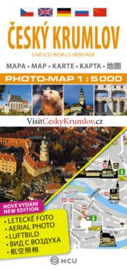 Český Krumlov / plán města 1:5 000(9788073392659)