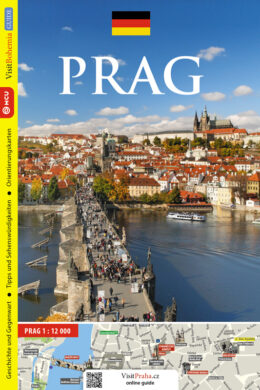 Praha / průvodce  německy(9788073392710)