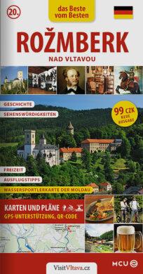 Rožmberk nad Vltavou / kapesní průvodce  německy(9788073392963)
