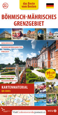Českomoravské pomezí / kapesní průvodce  německy(9788073393076)