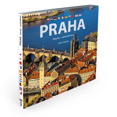 Praha letecky / kniha L.Sváček - střední formát(9788073393120)