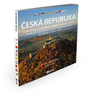 Česká republika letecky / kniha L.Sváček - střední formát(9788073393144)