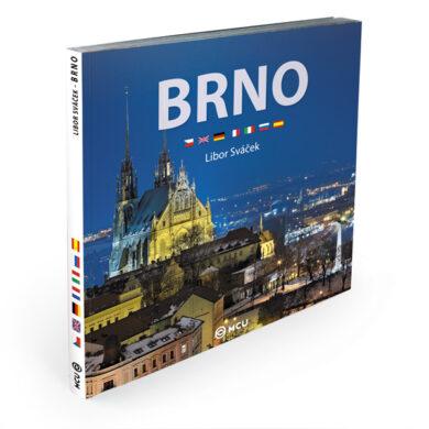Brno / kniha L.Sváček - střední formát(9788073393151)