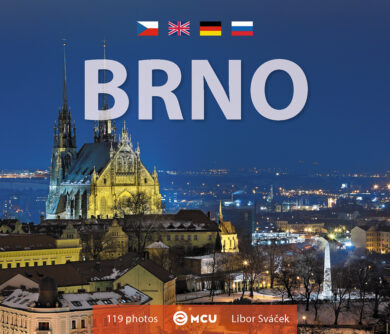 Brno / kniha L.Sváček - malý  formát(9788073393199)