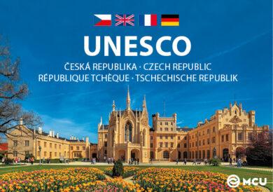Česká republika UNESCO - L.Sváček (mini) 5,2 x 7,5 cm Č,A,N,R(9788073393380)