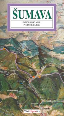 Šumava / panoramatická mapa  anglicky(9788086374024)