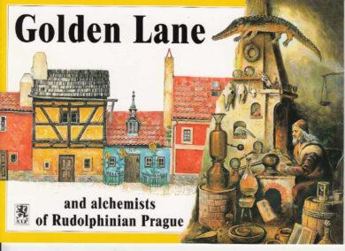 Zlatá ulička / panoramatická mapa  anglicky(9788086374093)